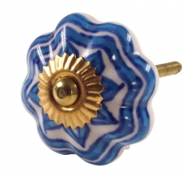Furniture Knob Rose Ceramic 49
