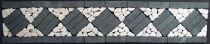 Mosaic tiles border - Design 1