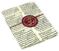 Notebook, diary, writing book, writing book made of Lokta paper O..