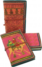 NotebookDiary with indian motive - pink