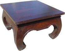 Opium table floor table, coffee table from India 100*100 cm