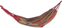 Outdoor hammock, 200x150 cm, 1-2 persons - red yellow green