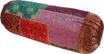 Patchwork neck roll, sofa cushion 50 cm - Multi