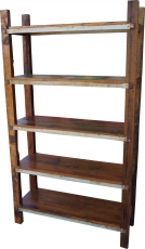 Shelf made of recycled wood - Model 1