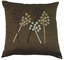 Retro cushion cover, cushion cover, decorative cushion - grasses ..