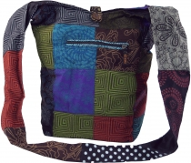 Sadhu Bag, Shoulder Bag Patchwork, Nepal Bag, Goat Bag