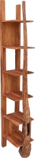 Narrow teak shelf - Model 14
