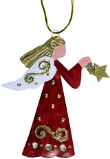 Guardian angels, Christmas angels, Christmas tree decorations in ..