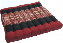Seat cushion, floor cushion, floor matThai, made of kapok, 50*50 ..