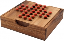 board game, board game made of wood - solitaire