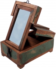 Mirror box make-up mirror - antique 3