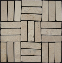 Stick mosaic marble tiles (P-05) - Design 12