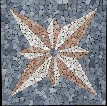 Star Mosaic Ensemble (90*90 cm) - Design 4