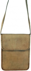 camel leather bag, shoulder bag, leather bag