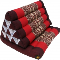 Thai pillow, triangular pillow, kapok, day bed with 1 cushion - b..