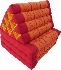 Thai cushion, triangular cushion, kapok, day bed with 3 covers - ..