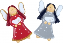 Christmas angel, guardian angel, tree hangings angel 2 set