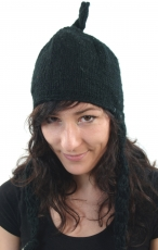 Woolly hat with earflaps - 3