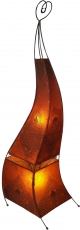 Henna Lamp, Leather Stand Lamp/Stand Lamp - Mauretania 118 cm
