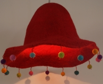 Kids Room Lampshade Happy Hat