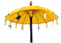 Ceremonial umbrella, Asian decorative umbrella - yellow