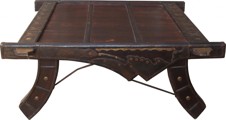 - Coffee Table, Coffee Table - Carriage 2 - 36x70x90 Cm